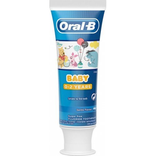 Oral-B Baby Toothpaste Disney Winnie The Pooh 0-2 Ετών 75ml