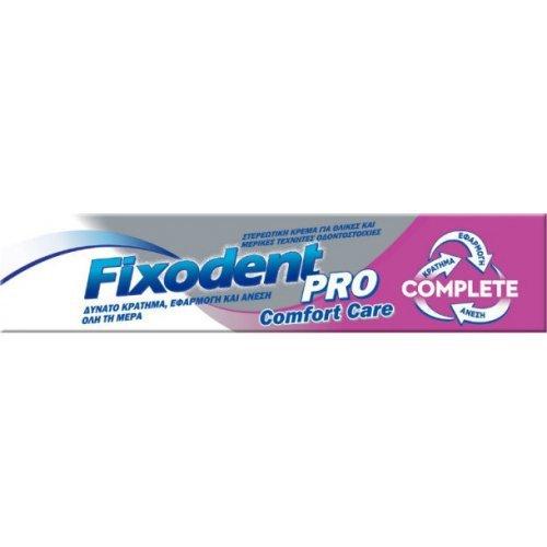 Fixodent Pro Complete Original Στερεωτική Κρέμα για Τεχνητές Οδοντοστοιχίες με 10 Φορές πιο Δυνατό Κράτημα 70,5gr