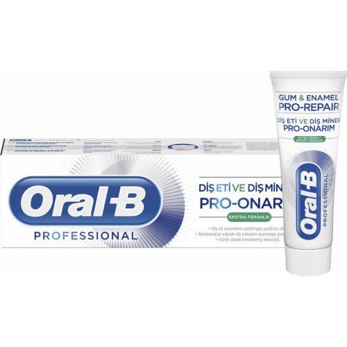 Oral-B Professional Gum & Enamel Pro-Repair Extra Fresh Οδοντόκρεμα για Μείωση των Προβλημάτων των Ούλων 75ml