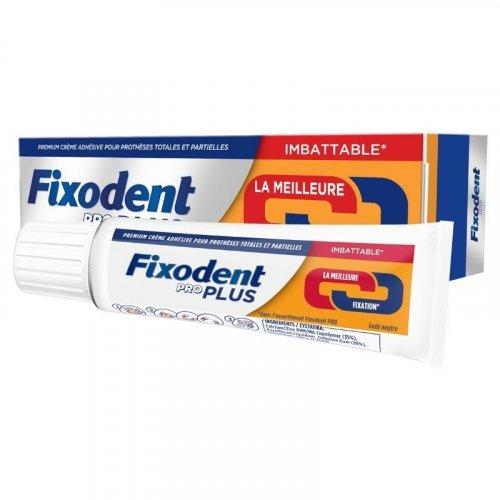 Fixodent Pro Plus Duo Action Στερεωτική Κρέμα για Τεχνητές Οδοντοστοιχίες 60gr