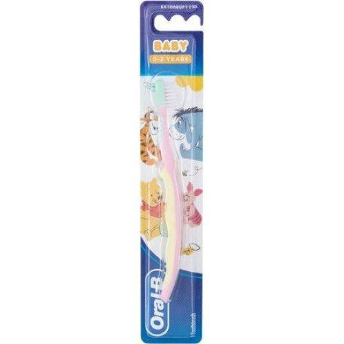 Oral-B Disney Baby Βρεφική Οδοντόβουρτσα για Κορίτσι 0-2 Ετών
