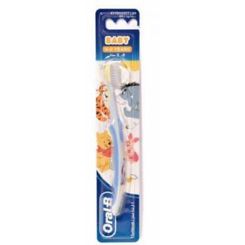 Oral-B Disney Baby Βρεφική Οδοντόβουρτσα για Αγόρι 0-2 Ετών